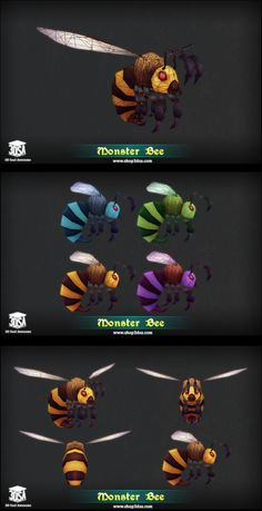 Forest creatures rigged and animated. Low poly Fantasy Forest Monster Carnivorous Plant. Evil Mushroom. Fantasy Dragon. Forest Bat. Forest Bunny. Forest Golem. Forest Wolf. Monster Bee. Nymph Fairy. Treant Guard. Treasure Goblin.