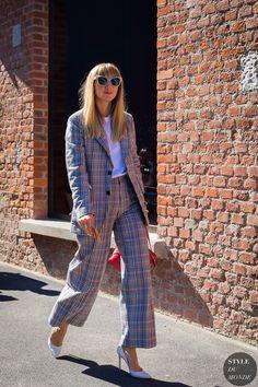 Milan SS 2018 Street Style: Lisa Aiken