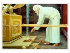 The Temple Institute: Yom Kippur in the Holy Temple: Placing the Coals Down: First Temple El Talmud, Arc Of The Covenant, Bible Study Materials, Messianic Judaism, Biblia Online, Bible Images, Yom Kippur, The Tabernacle, High Priest