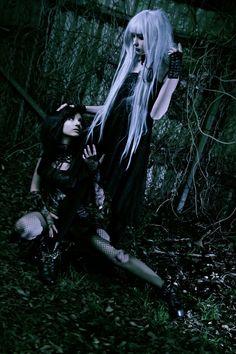 Gothic girls.