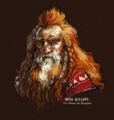 Dáin II Ironfoot (TA 2767-3019) Lord of the Iron Hills, King under the Mountain and King of Durin's Folk