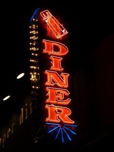 Salt & Pepper Diner, 2575 N. Lincoln (Chicago Neon Daze 21).