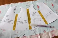 A free pattern and tutorial to make a premie hospital gown. Project NICU - Baby Hospital Gown Tutorial. | badskirt