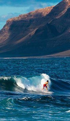 Surfen in de linkse van San Juan, Surfspots op Lanzarote