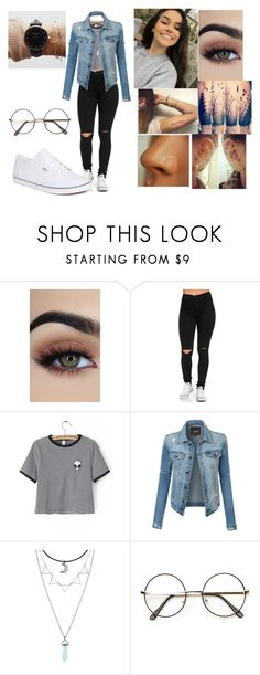 """""""2/27"""" by rawrimadinoxo ❤ liked on Polyvore featuring WithChic, LE3NO, ROSEFIELD, ZeroUV and Vans"""