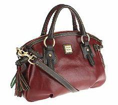 Dooney & Bourke Toledo Leather Medium Mail Satchel