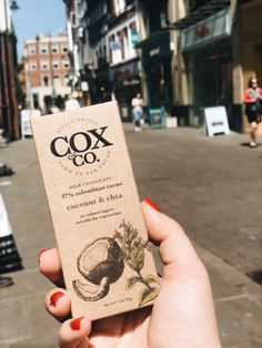 Coconut and chia, milk chocolate available in bars.perfect to treat yourself to when you're on the go Best Chocolate, How To Make Chocolate, Raw Cacao Nibs, Bee Pollen, Superfoods, Feel Good, Coconut, Foodies, Honey