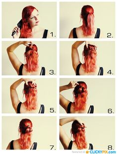 Superb Step By Step Step By Step Guide And Step Guide On Pinterest Short Hairstyles Gunalazisus