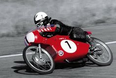 Angel Nieto won his first World Championship in 1969, riding this awesome 50cc Derbi made in Barcelona