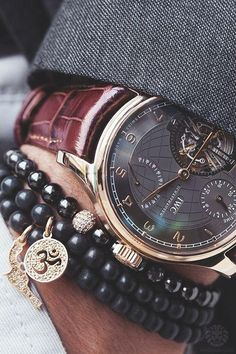 ' — IWC Gentleman's Essentials Cool Watches, Watches For Men, Iwc Watches, Casual Watches, Mens Fashion Blog, Men's Fashion, Classy Fashion, Fashion News, Fashion Beauty