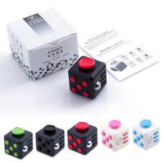 Full Black Fidget Dice Cube 6-side Toy Anxiety Stress Relief Christmas Gift  TO BUY: Click the link in our bio to shop directly.  Direct purchase link: http://ift.tt/2jfNv2d Price: $14.99.  Description:  An unusually addicting high-quality desk toy designed to help you focus. Fidget at work in class and at home in style. Stress relief machine.  How do i use it?  Its simple.Fidget Cube (patent pending) has six sides.Each side features something to fidegt with:  1.Spin  Looking for a circular…