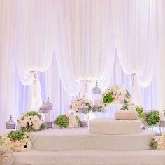 Unsure which vendor. Wedding Prep, Dream Wedding, Wedding Planner, Pakistan Wedding, Wedding Reception Backdrop, Pipe And Drape, Malay Wedding, Wedding Scene, Wedding Arrangements