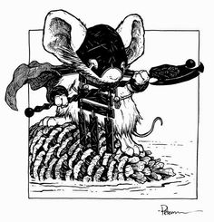 Shadow From Mouse Guard by David Petersen