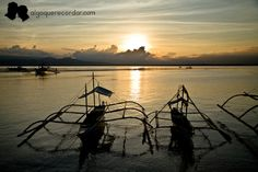 Atardecer Puerto Princesa, Celestial, Sunset, Outdoor, Boats, Water, Outdoors, Sunsets, Outdoor Games