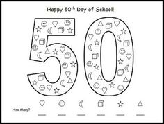 50th day counting activity