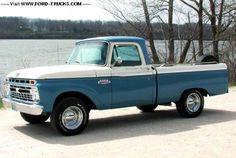 1966 Ford F100 4x2 - Ford F100 Custom Cab