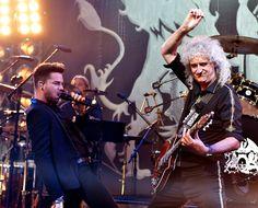 Adam Lambert Photos: Queen + Adam Lambert For iHeartRadio Live