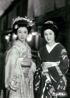 A Geisha(祇園囃子)    A Geisha (祇園囃子 or Gion Festival Music) is a 1953 Japanese film directed byKenji Mizoguchi, centred around life in post-war Gion (Kyoto) through the relationship between an established geisha, Miyoharu, and teenaged Eiko, who pleads with Miyoharu to take her on as an apprentice or maiko.