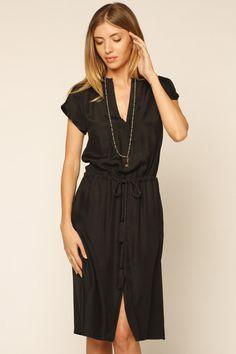 Rope V Neck Dress - $198.00 @ Shoptiques.com