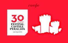 Un 35% de dto. en tu reserva de tren a Castell de Peralada