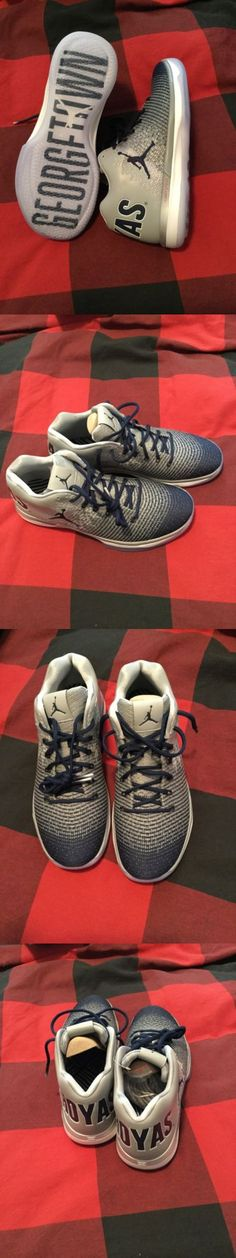 Basketball: New Nike Air Jordan 31 Xxxi Low Georgetown Hoyas Basketball Shoes - Size 11 BUY IT NOW ONLY: $250.0