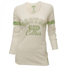 47 Brand Celtics Womens Extra Point L/S T-Shirt [White]