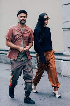 The Best Street Style from the Milan Fashion Week's Menswear Shows Photos   GQ