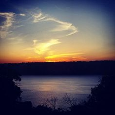 #Sunset #sky #clouds #colors #Hudson #hudsonriver #river #nyc #ny #water #trees #forttyronpark  #park #cloisters #beautiful #amazing #view #nature #life #lovelife #photographyislife  #photography #instagram by debralynnjordan