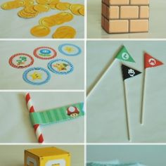 A full party's worth of Super Mario Party Printables, from blocks, surprise… Super Mario Birthday, Mario Birthday Party, 5th Birthday Party Ideas, Super Mario Party, Boy Birthday Parties, Super Mario Bros, 7th Birthday, Mario Yoshi, Mario Y Luigi