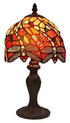 """Amora Lighting Dragonfly 14.5"""" Table Lamp #AmoraLighting"""