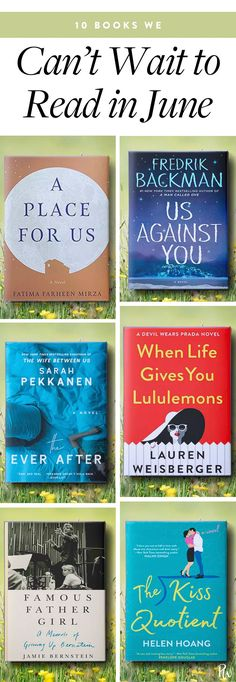 9 Books We Can't Wait to Read in June #purewow #books #fiction #nonfiction