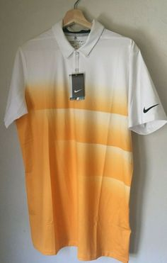 527e0697 Nike Engineered Dry Golf Polo 854274 Dri-Fit Standard Fit Breathable Medium  Tall #NikeGolf