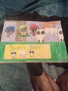 Super Bros in a Thanksgiving parade by Kaylee Alexis