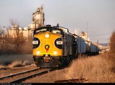 RailPictures.Net Photo: PREX 1752 Keokuk Junction Railway EMD FP9 at Peoria, Illinois by Craig McGregor