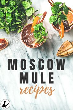 If you love different types of Moscow Mules, you'll love these easy Moscow Mule recipes. Flavored Moscow Mule variations are easy to make and fun to drink! Best Moscow Mule, Moscow Mule Recipe, Moscow Mule Variations, Classic Recipe, Easy Cocktails, Strawberry Recipes, Vegan Recipes Easy, Summer Drinks, Fan