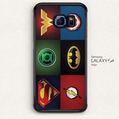 Superheros Logo Comic for Samsung Galaxy S6 S6 Edge Hard Case Cover | eBay