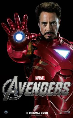The Avengers Poster, Iron Man