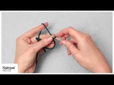 Natalie of Nattypat Crochet demonstrates how to create an adjustable ring, also known as a magic loop, a great method for starting crochet projects that are . Single Crochet Decrease, Half Double Crochet, Crochet Basics, Crochet Stitches, Adjustable Ring Crochet, Crochet Crafts, Crochet Projects, Magic Circle Crochet, Knitting Patterns
