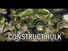 Darksiders 2 - Construct Hulk Boss Fight - YouTube