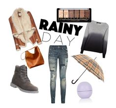 """Untitled #36"" by neska22 ❤ liked on Polyvore featuring Mason by Michelle Mason, 360 Sweater, Polo Ralph Lauren, Burberry, Timberland and Topshop"