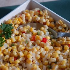 """Corn with JalapenosI """"Awesome! Super quick and easy. I used canned corn and a green onion for additional color... YUM!"""""""
