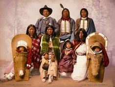 The Original Coloradans | Native American Tribes and Reservations Native American Photos, Native American Tribes, Native American History, Native Americans, Pueblo Tribe, Arts And Crafts Projects, Vintage Photographs, Hand Coloring, Vintage Prints