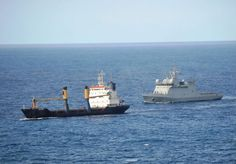 Spanish Navy's oceanic patrol vessel 'Relámpago', currently participating in European-led counter-piracy operation 'Atalanta' in Indian Ocean,provided escort to World Food Program ship transiting area.Escorted vessel,merchant ship 'Juba Liner II',departed Kenyan port of Mombasa towards Somalia transporting food to refugees in that failed state.Escorts are key missions within operation 'Atalanta' as they provide necessary protection to ships traditionally targeted by pirates in the region.