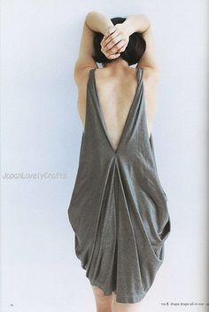 DRAPE DRAPE 1 BY HISAKO SATO - JAPANESE SEWING PATTERNS BOOK - ELEGANT AND GORGEOUS DREPE DRESS PATTERN