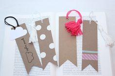ars textura, DIY bookmark, Lesezeichen basteln, Last-Minute Geschenk, Bücher, lesen, DIY, Pünktchen, Maskingtape, Tassel