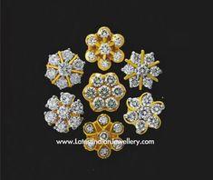 7 Stone Diamond Earrings