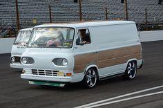 Hot Rod Vans and Babes | ... hot rod hot rods hotrod rolling heavy vanner vans vintage vintage car