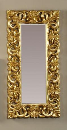 Mirror Design Wall, Vintage Mirrors, Door Design Wood, Gold Picture Frames, Mirror Designs, Goddess Decor, Mirror Art, Ceiling Design, Picture Frames