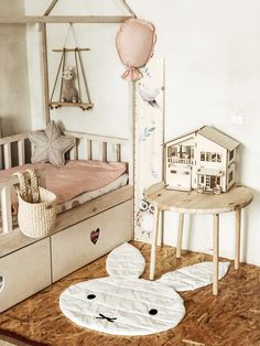 Kids Room, Toddler Bed, Rugs, Diy, Furniture, Home Decor, Child Bed, Farmhouse Rugs, Room Kids