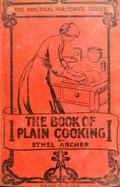 The book of plain cooking